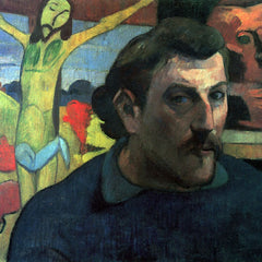 The Museum Outlet - Self Portrait with Yellow Christ by Gauguin