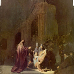 The Museum Outlet - Simeon in the temple by Rembrandt
