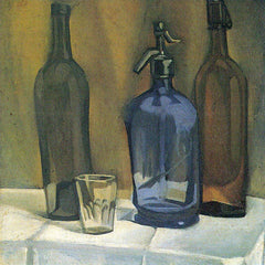 The Museum Outlet - Siphon and bottles by Juan Gris