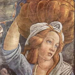 The Museum Outlet - Sistine Chapel -The youth of Moses Detail 3 by Botticelli