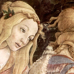 The Museum Outlet - Sistine Chapel -The youth of Moses Detail by Botticelli