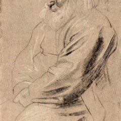 The Museum Outlet - Sitting Greis by Rubens