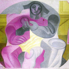 The Museum Outlet - Sitting Harlequan by Juan Gris