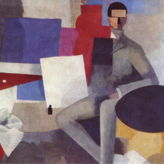 The Museum Outlet - Sitting Man By La Fresnaye