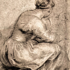The Museum Outlet - Sitting girl by Rubens