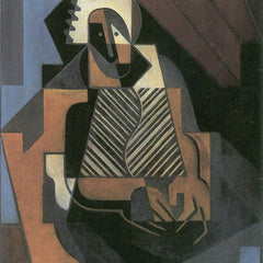 The Museum Outlet - Sitting peasant woman by Juan Gris