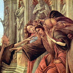 The Museum Outlet - Slander Detail 2 by Botticelli