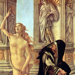 The Museum Outlet - Slander Detail 3 by Botticelli
