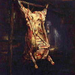 The Museum Outlet - Slaughtered Ox by Rembrandt