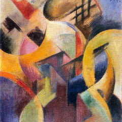 The Museum Outlet - Small composition I by Franz Marc