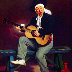 The Museum Outlet - Spanish singer by Manet