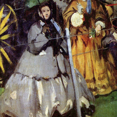 The Museum Outlet - Spectators at the races by Manet