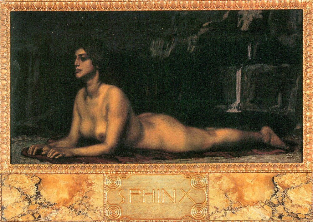 The Museum Outlet - Sphinx by Franz von Stuck