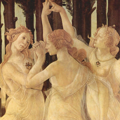 The Museum Outlet - Spring (Primavera), detail [1] by Botticelli