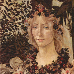 The Museum Outlet - Spring (Primavera), detail [2] by Botticelli