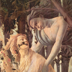 The Museum Outlet - Spring (Primavera), detail [4] by Botticelli