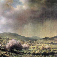 The Museum Outlet - Spring rain, the valley of Connecticut by Martin Johnson Heade