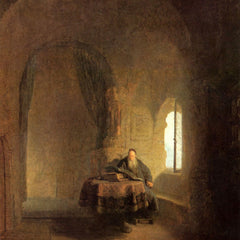 The Museum Outlet - St. Anastasius by Rembrandt
