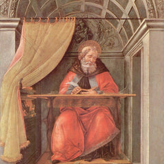The Museum Outlet - St. Augustine in Exam by Botticelli