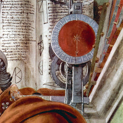The Museum Outlet - St. Augustine in prayer Detail 2 by Botticelli