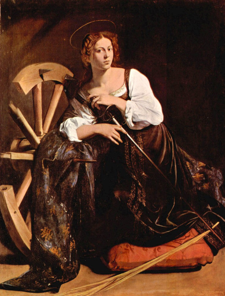 The Museum Outlet - St. Catherine of Alexandria by Caravaggio