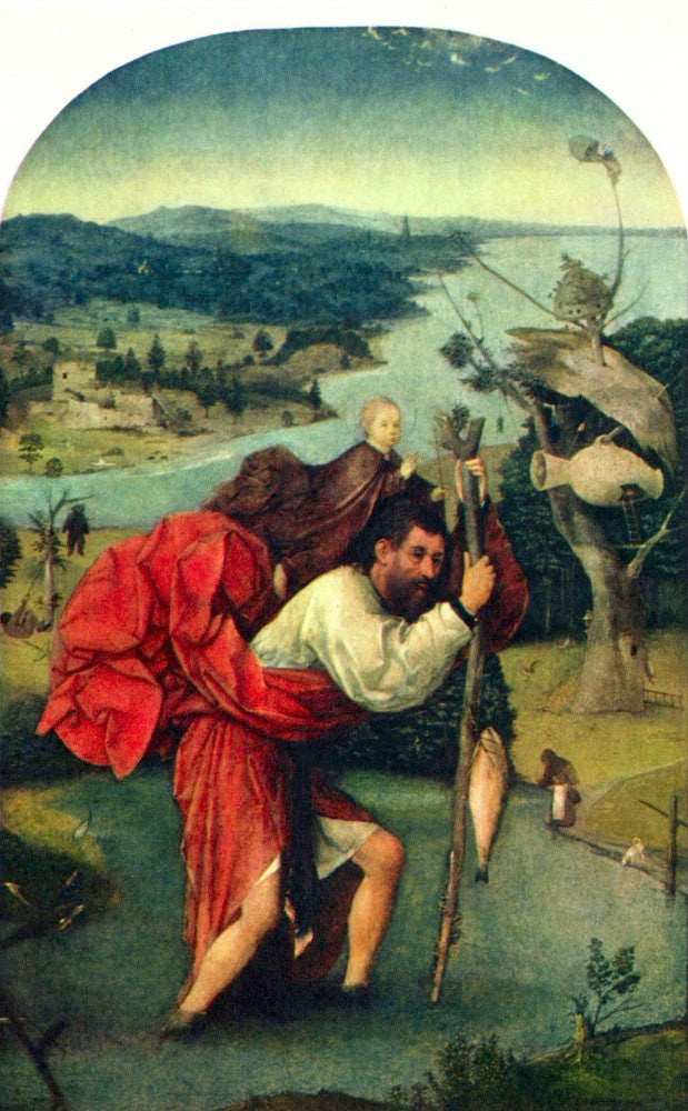 The Museum Outlet - St. Christopher by Bosch