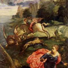 The Museum Outlet - St. George and the Dragon by Tintoretto