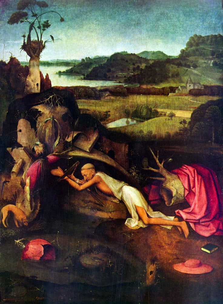 The Museum Outlet - St. Jerome by Bosch