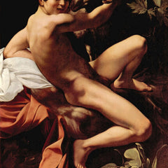 The Museum Outlet - St. John the Baptist by Caravaggio