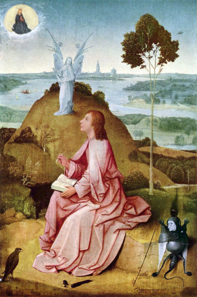 The Museum Outlet - St. John the Evangelist on Patmos by Bosch
