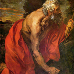 The Museum Outlet - St Hieronymus by Van Dyck