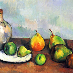 The Museum Outlet - Still Life, Jar and Fruit by Cezanne