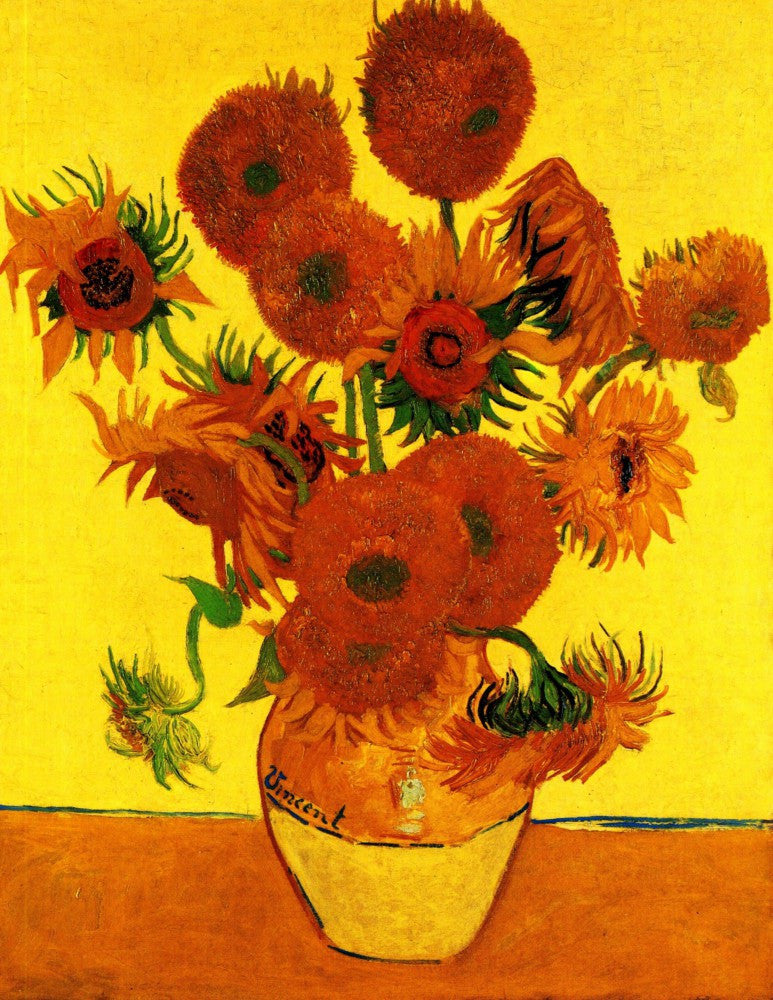 The Museum Outlet - Still Life Vase with Fifteen Sunflowers3