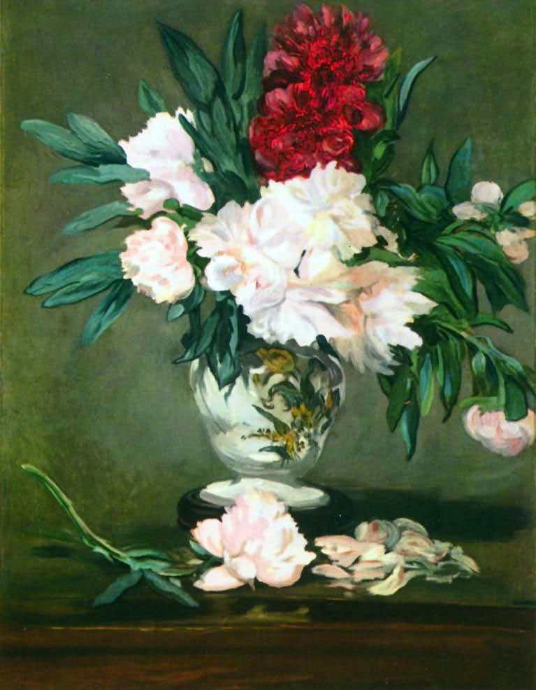 The Museum Outlet - Still Life, Vase with Peonies by Manet