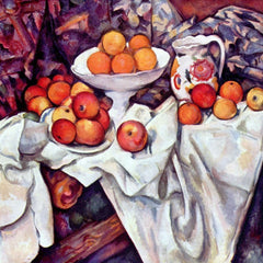 The Museum Outlet - Still Life with Apples and Oranges by Cezanne