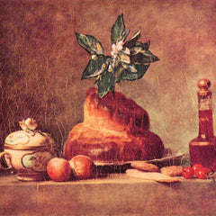 The Museum Outlet - Still Life with Brioche by Jean Chardin