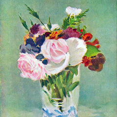 The Museum Outlet - Still Life with Flowers [2] by Manet