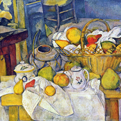 The Museum Outlet - Still Life with Fruit Basket by Cezanne