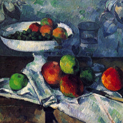 The Museum Outlet - Still Life with Fruit Bowl by Cezanne