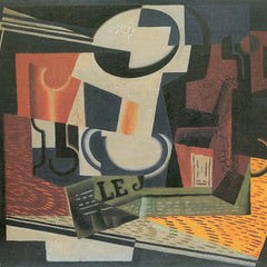 100% Hand Painted Oil on Canvas - Still Life with Fruit Bowl by Juan Gris