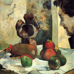 The Museum Outlet - Still Life with Profile of Charles Lavall by Gauguin