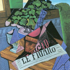 100% Hand Painted Oil on Canvas - Still Life with geraniums by Juan Gris