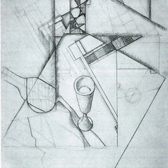 The Museum Outlet - Still Life with glass and board game by Juan Gris