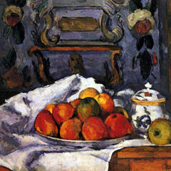 The Museum Outlet - Still life, bowl of apples by Cezanne