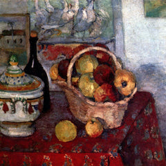 The Museum Outlet - Still life with soup tureen by Cezanne