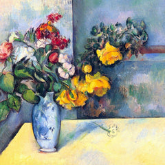 The Museum Outlet - Still lifes, flowers in a vase by Cezanne