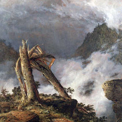 The Museum Outlet - Storm in the Mountains by Frederick Edwin Church
