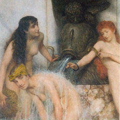 The Museum Outlet - Strigilis and sponges by Alma-Tadema
