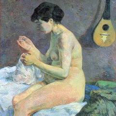 The Museum Outlet - Study of a Nude by Gauguin