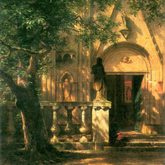 The Museum Outlet - Sunlight and Shadow 2 by Bierstadt